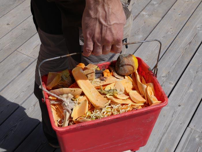 déchets de cuisine
