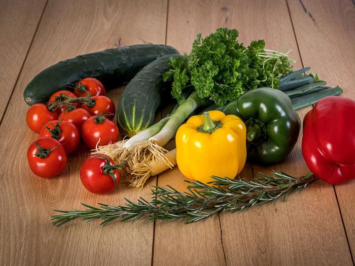 récolte de légumes du potager
