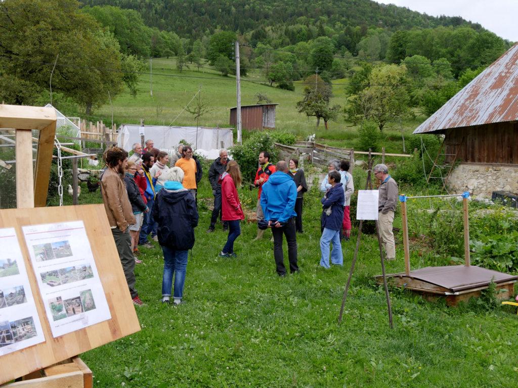 visites commentées du jardin
